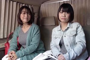 雛菊つばさ 小田しおり 巨乳熟女と娘がナンパされホテルで3Pハメ撮り親子丼!